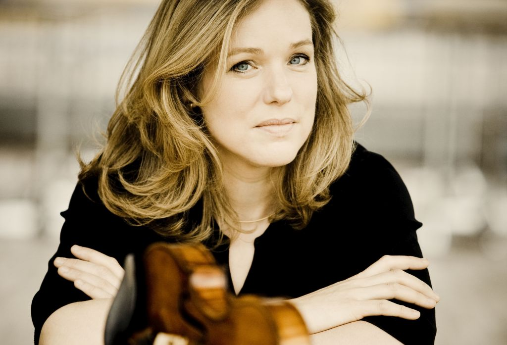 Isabelle van Keulen with the Netherslands Symphony Orchestra