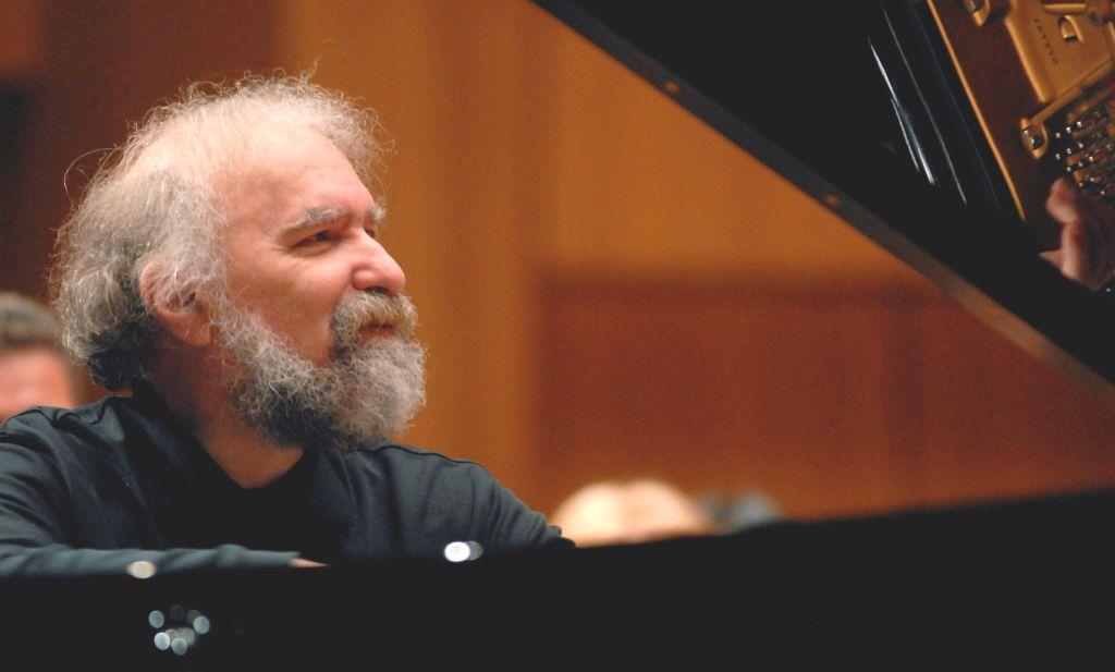 Radu Lupu and Daniel Barenboim perform four handed pieces in the Boulez Saal